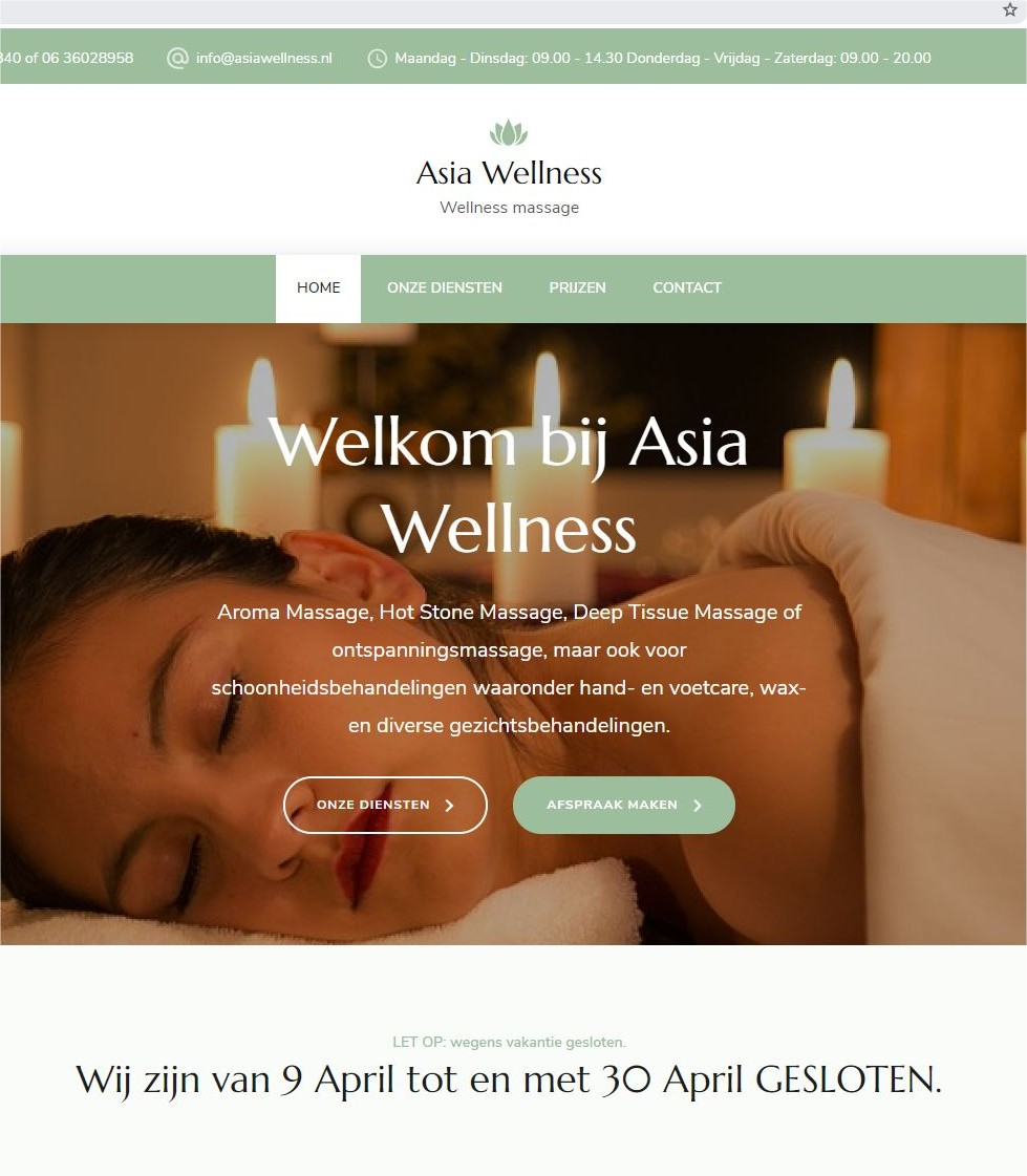 website asia wellness